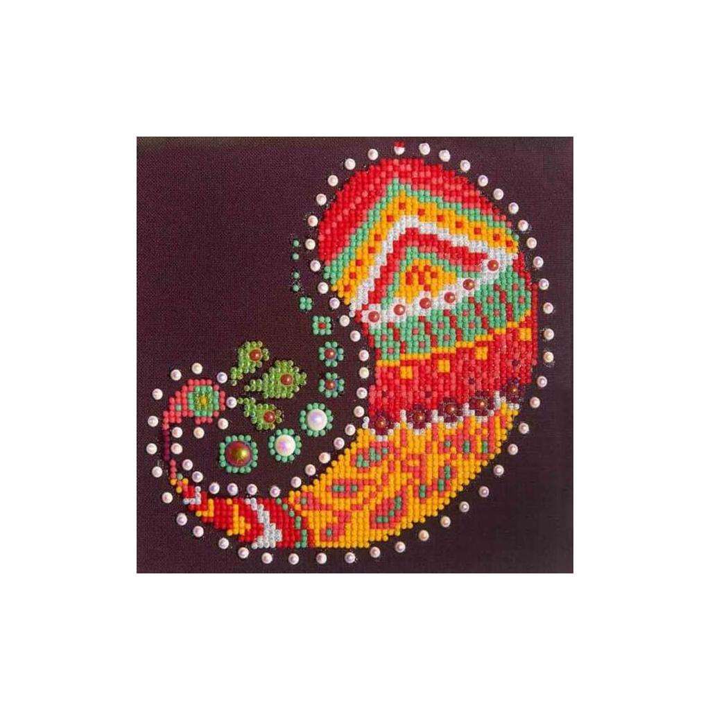 Kit De Broderie Diamant 20x20 Cm Cachemire Perles Amp Co