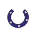 Demi-Lune Strass Polaris 22 mm Dark Indigo x1
