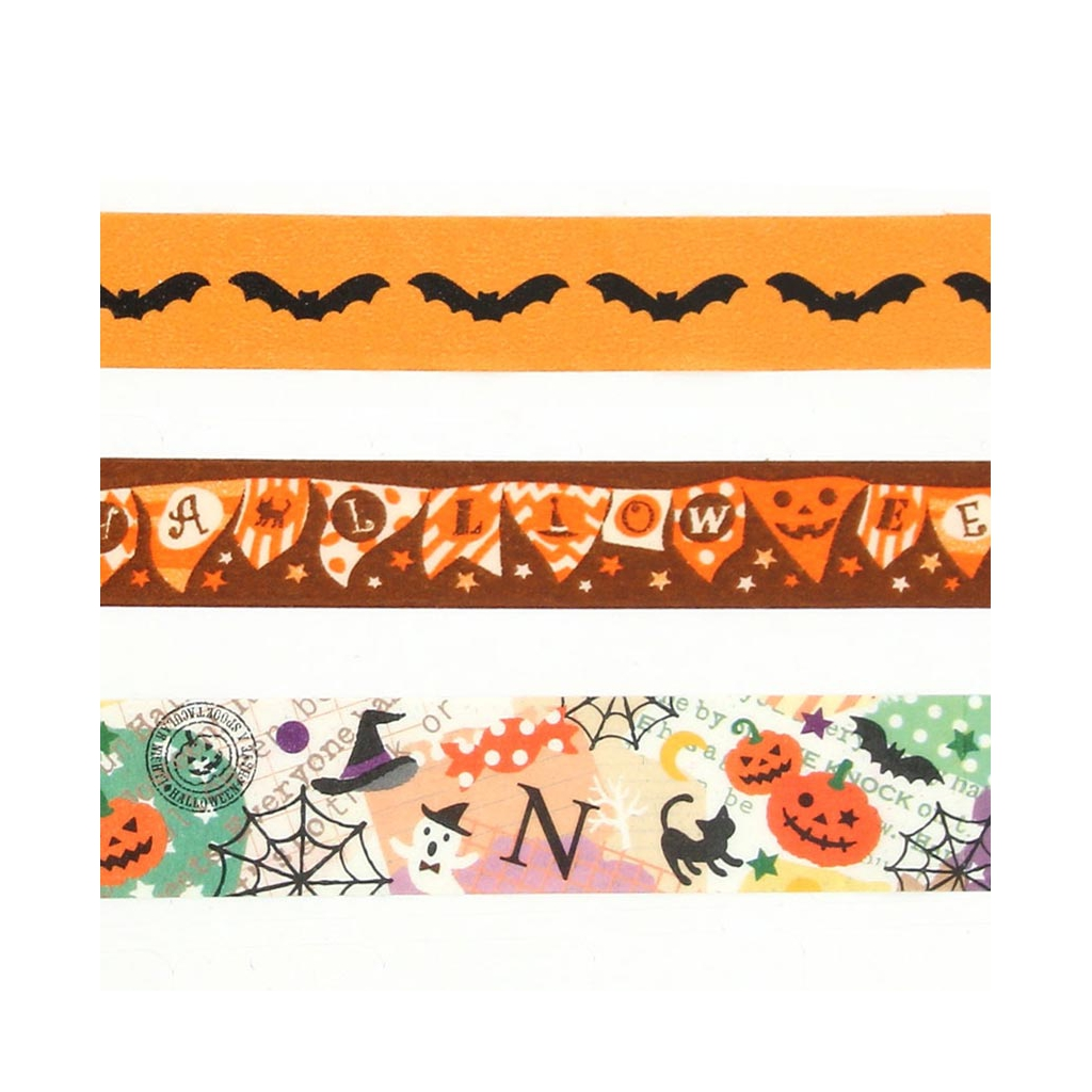 Cadeau ruban adh sif type masking tape sp cial halloween perles - Qu est ce que le masking tape ...