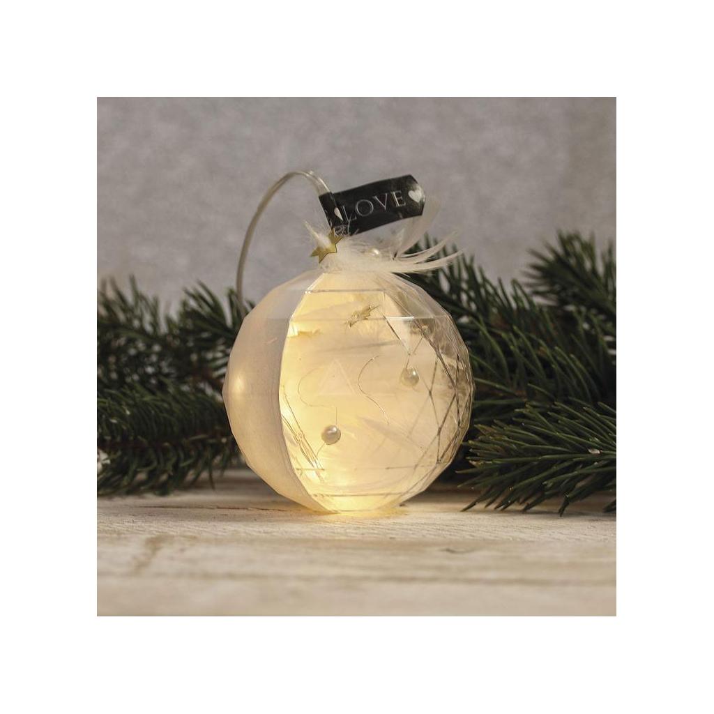 Personnaliser Une Boule De Noel Transparente boule de noël transparente à garnir 80 mm facettée x1