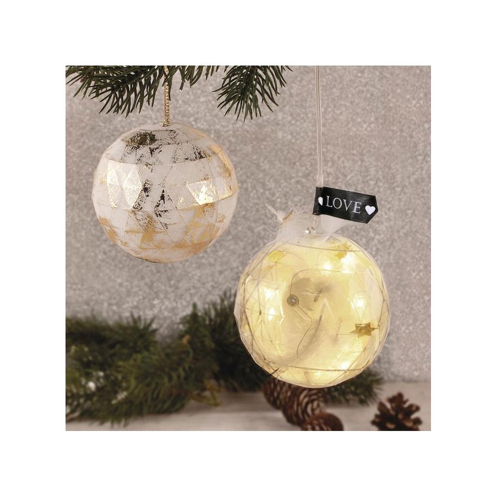 Boule De Noel Transparente A Decorer boule de noël transparente à garnir 80 mm facettée x1