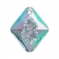 Pendentif Swarovski 6926 Growing Crystal Rhombus 26 mm Crystal Vitrail Light