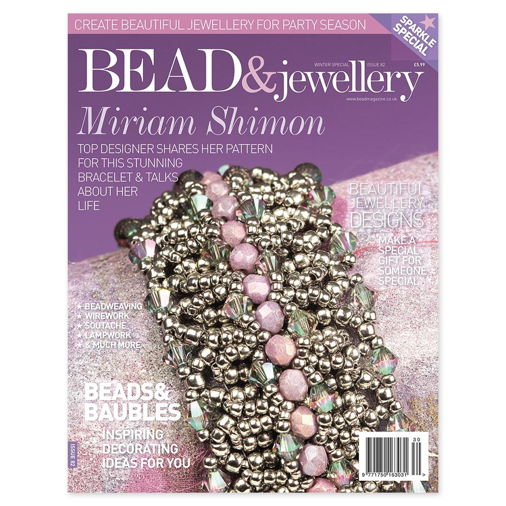 magazine bead jewellery sp cial hiver 2017 en anglais perles co. Black Bedroom Furniture Sets. Home Design Ideas