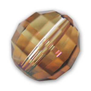 Ronde Swarovski 5005 8 mm Crystal Copper x1