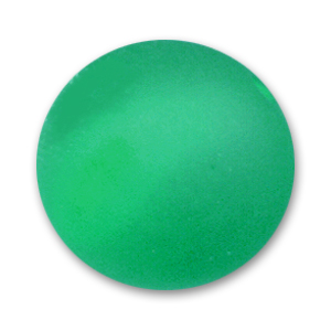 Perle ronde Polaris 20 mm Emerald x1