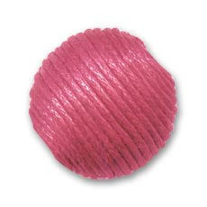 Ronde coton 22 mm Rose Fuchsia x1