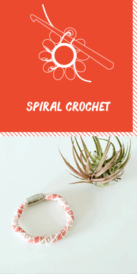 Learn how to do Spiral crochet