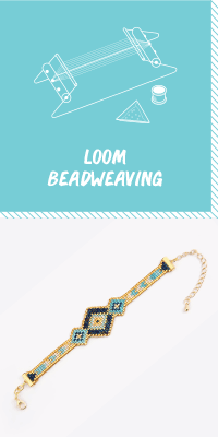 Learn how to do bead weaving with a loom