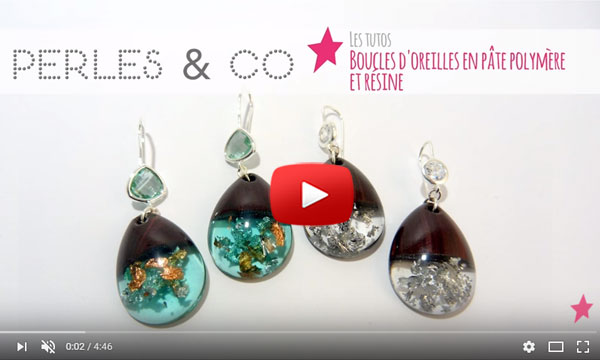 bijoux en resine